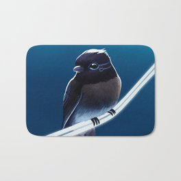Solar Sparrow Bath Mat
