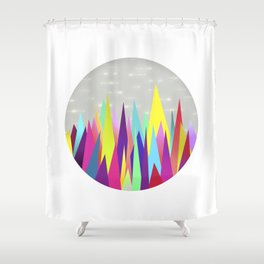 Zackenpunkt No. 1 Shower Curtain