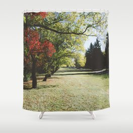 October Colours Shower Curtain