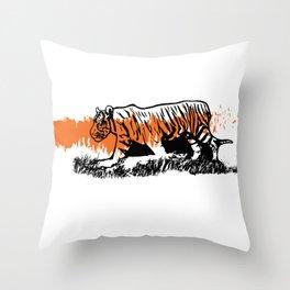 Pantheras tigris II Throw Pillow
