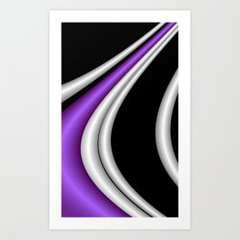 fractal geometry -116- Art Print