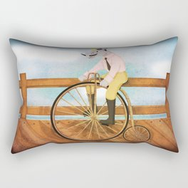 Bicycle Unicorn V02 Rectangular Pillow