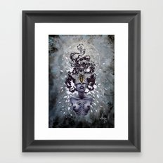 Desolation of the bees Framed Art Print