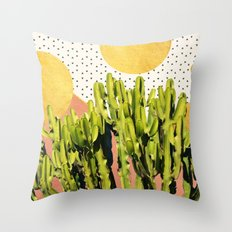 Cactus Dream #society6 #decor #buyart Throw Pillow