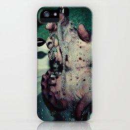 Slipping Through Your Fingers iPhone Case