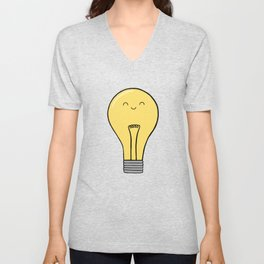 Glow Unisex V-Neck