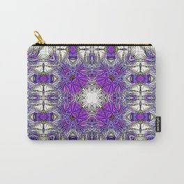 Palm Leaves Abstract Art Pattern Carry-All Pouch