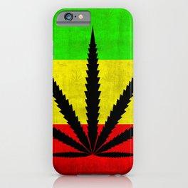 Weed Ragga iPhone Case