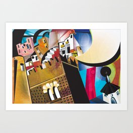 _esperimento futurista Art Print