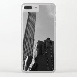 432 Park Gray Clear iPhone Case