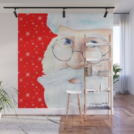 Santa Claus Wall Mural