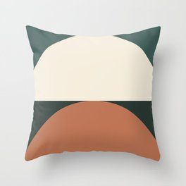 Abstract Geometric 01E Throw Pillow
