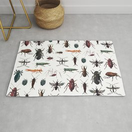 Color Insects Pattern Rug
