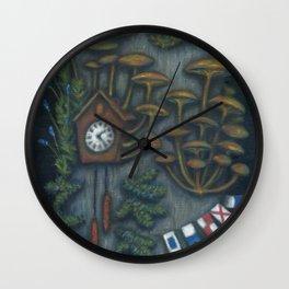 Punctual chignon (Chignon ponctuel) Wall Clock