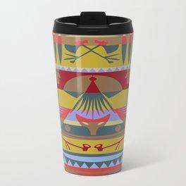 American Native Pattern No. 73 Travel Mug