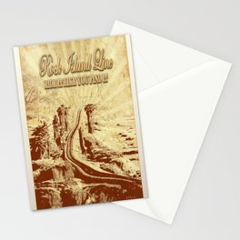 Rock Island Line Comics Stationery Cards