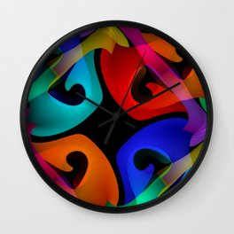 3D for duffle bags and more -3- Wall Clock