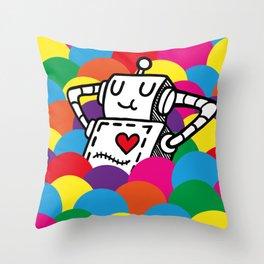 Ballpit Throw Pillow