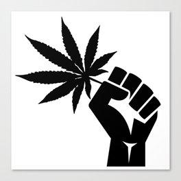 Veterans for Cannabis Canvas Print