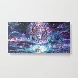 Quest For The Peak Experience Metal Print
