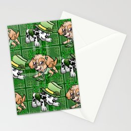 Lucky pups Stationery Cards