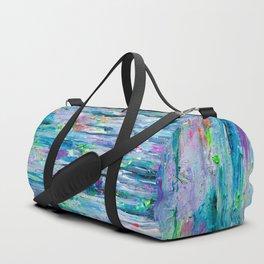 Silver Rain Duffle Bag