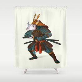 Rhino - Samurai Shower Curtain