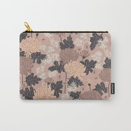 Peony Flower Pink Carry-All Pouch