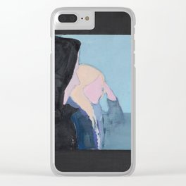 Blue Valentine Clear iPhone Case