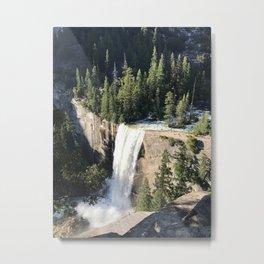 Vernal Falls Metal Print