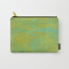Gelatin Monoprint 24 Carry-All Pouch