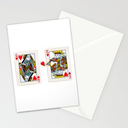 The King knows what the heart wants. Stationery Cards
