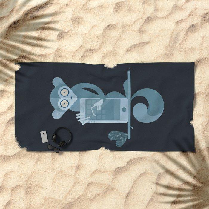 i-Aye Beach Towel