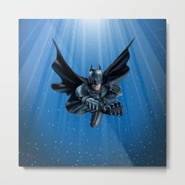 Winged Man Metal Print