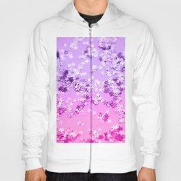 Pink Purple Glitter Stars #1 #shiny #decor #art #society6 Hoody
