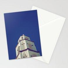 Santorini Churches III Stationery Cards