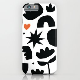 My abstract garden iPhone Case