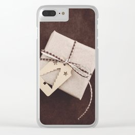 Christmas gift Clear iPhone Case