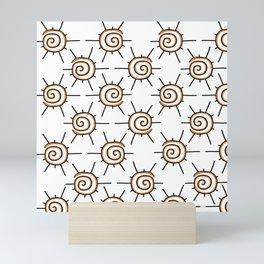 Shamanic Pattern No. 06 Mini Art Print