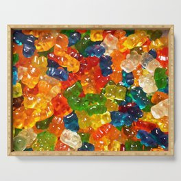 Gummy Bears by Squibble Design Serving Tray