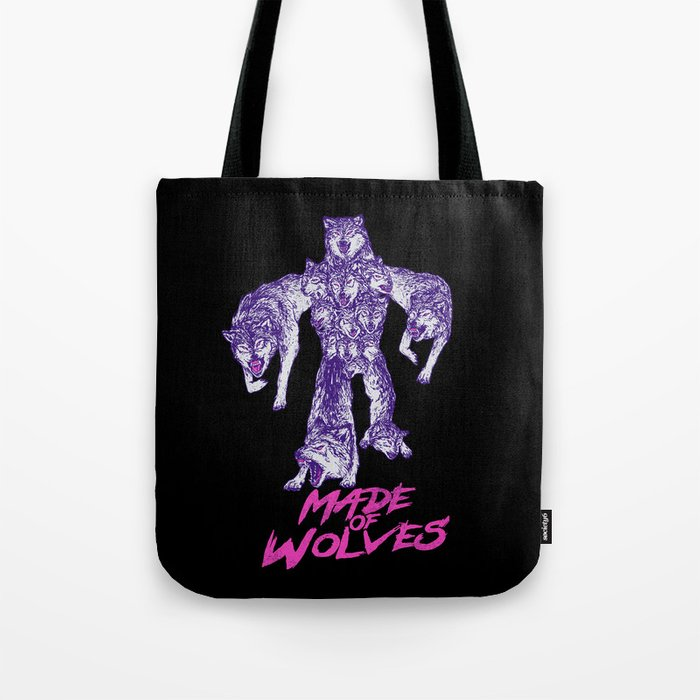 Made Of Wolves Tote Bag