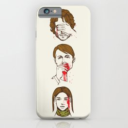 No Evil  Cannibalism iPhone Case