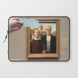 Blue is the Sky: Contemplation Laptop Sleeve