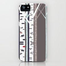 birch trees Slim Case iPhone (5, 5s)