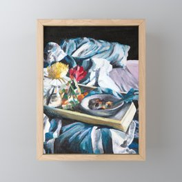 Breakfast in Bed, No. 2 Framed Mini Art Print