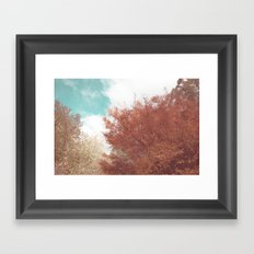 Beautiful Day in Autumn Framed Art Print