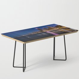 Blue Chicago night Coffee Table