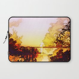 Impression of a sunset Laptop Sleeve