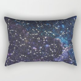 Sky map Rectangular Pillow