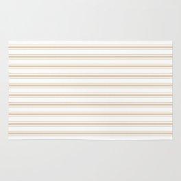 Almond Baby Camel Mattress Ticking Wide Striped Pattern - Fall Fashion 2018 Rug